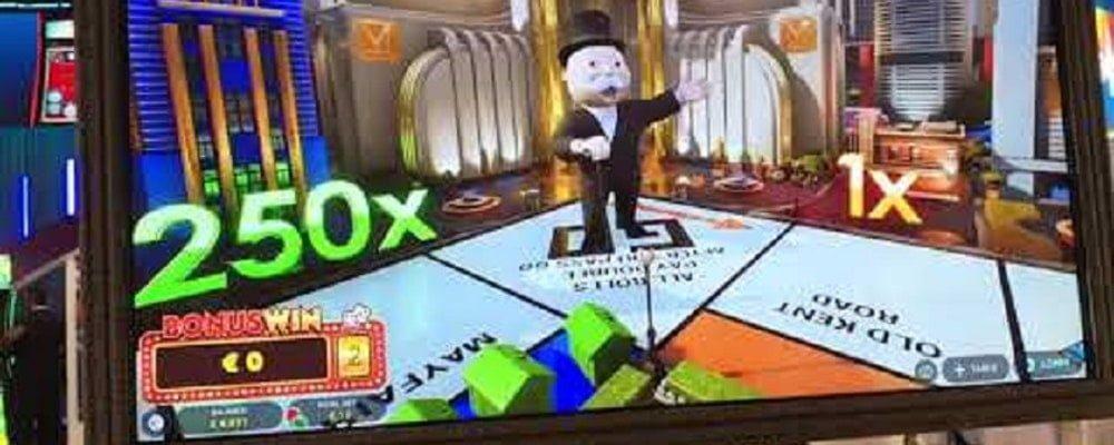 Monopoly de Evolution Gaming